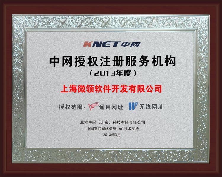 2013年度中国授权…